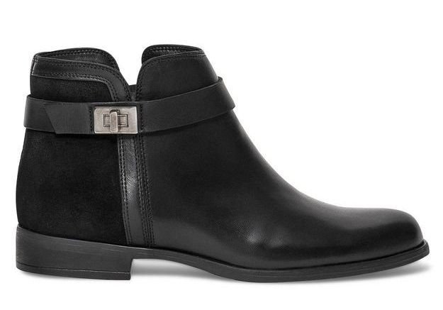 Bottines noires Eram