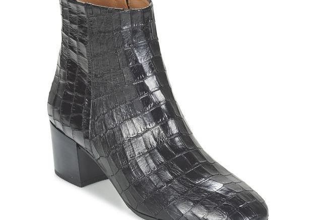 Bottines noires Fericelli