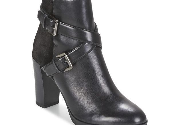 Bottines noires Géox