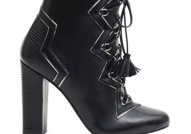 Bottines noires Gordana Dimitrijévic