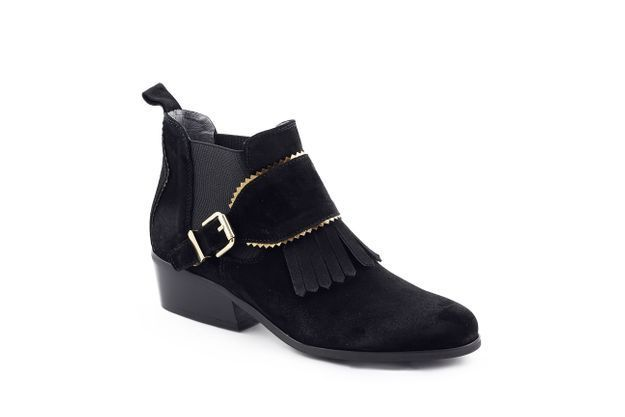 Bottines noires Kanna