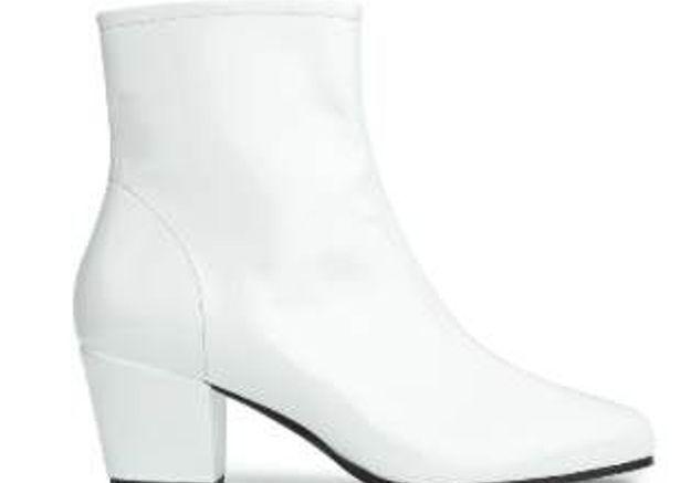 Chaussures blanches Alexa Chung