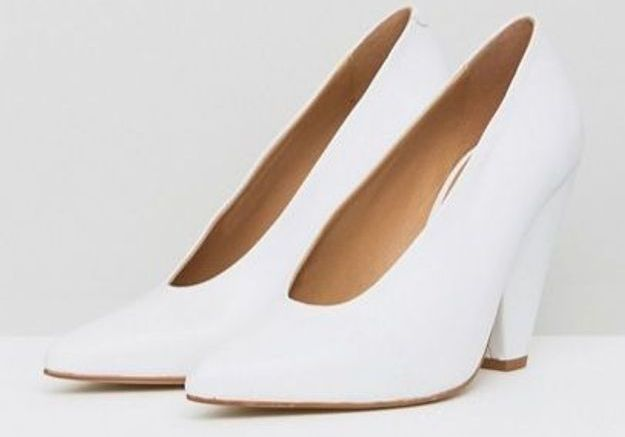 Chaussures blanches Asos