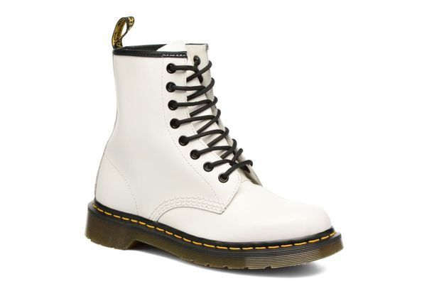 Chaussures blanches Dr Martens