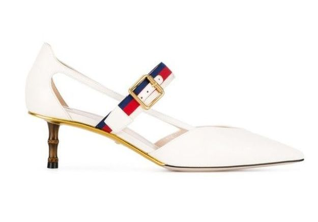 Chaussures blanches Gucci
