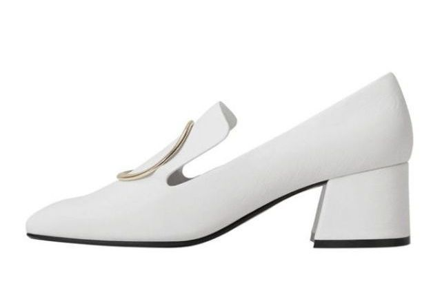 Chaussures blanches Mango