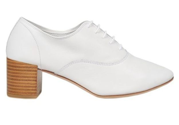 Chaussures blanches Repetto