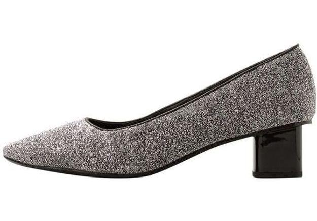 Chaussures sexy escarpins à paillettes Mango