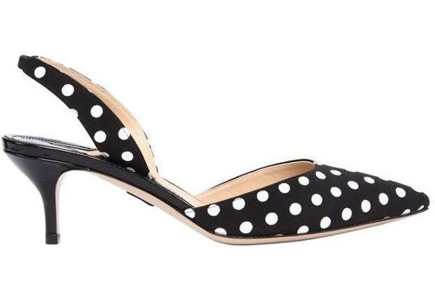 Chaussures sexy escarpins à pois Paul Andrew