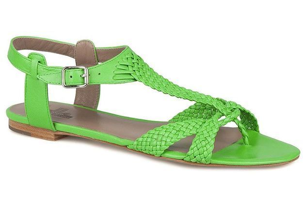 Mode guide shopping tendance accessoire chaussues sandales plates Belle