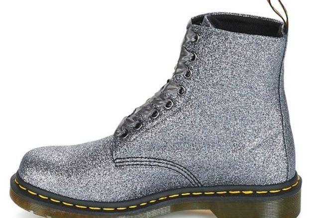 Chaussures à paillettes Dr Martens sur Spartoo
