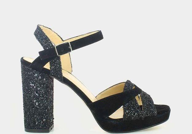 Chaussures à paillettes Jonak