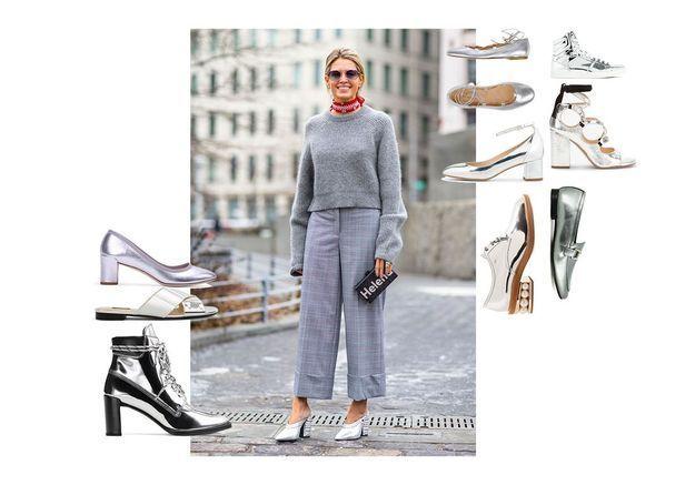 Les chaussures miroir, le nouveau basique que notre dressing attendait