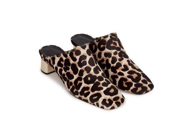 Chaussures de printemps Imprimé léopard Nanushka