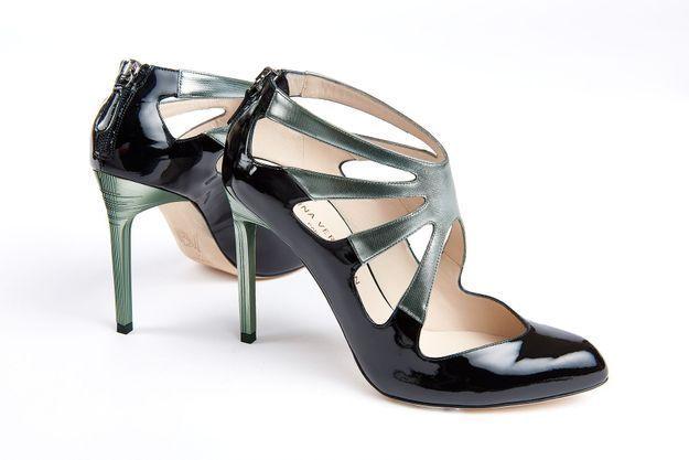 Chaussures tendance Bettina Vermillon