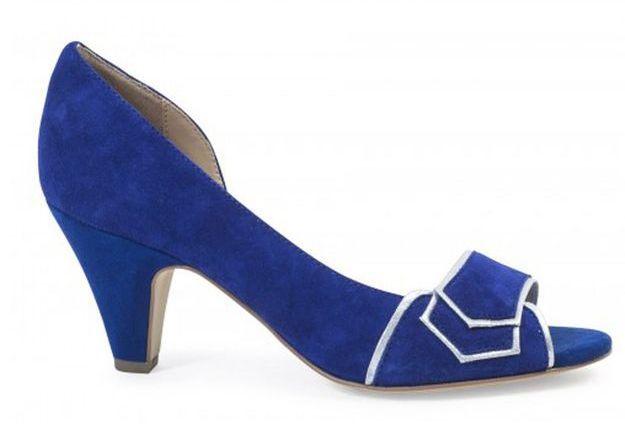 Escarpins bleus André
