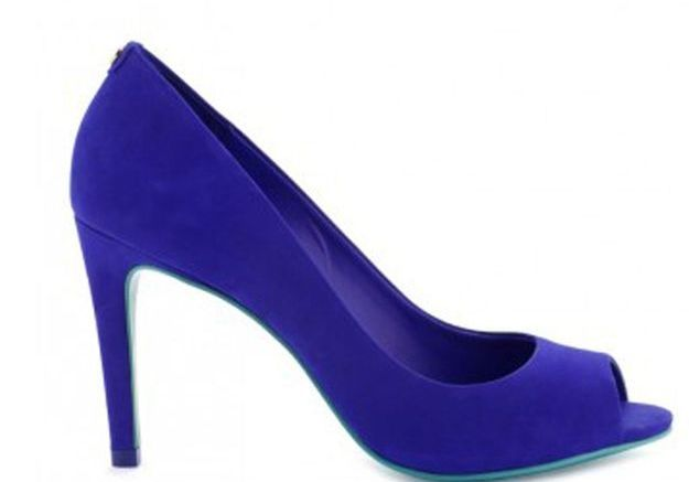 Escarpins bleus Cosmoparis