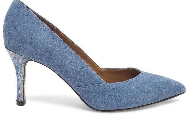 Escarpins bleus Eram