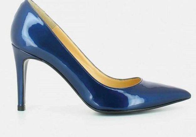 Escarpins bleus Jonak