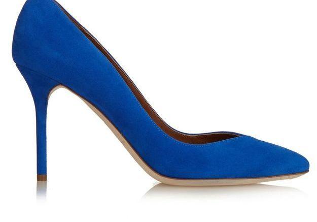 Escarpins bleus Malone Souliers