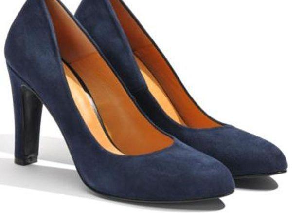 Escarpins bleus Sarenza