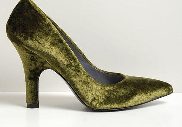 Escarpins en velours Amélie Pichard