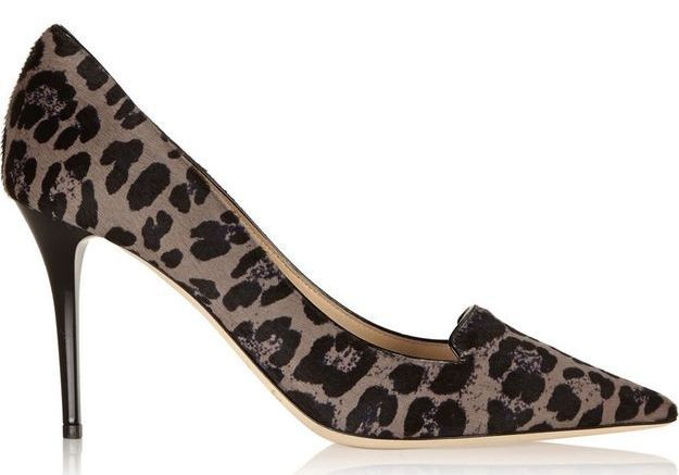 Escarpins léopard Jimmy Choo