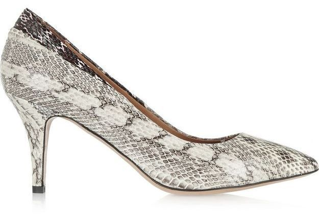 Escarpins serpent Isabel Marant