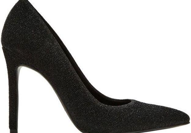 Escarpins noirs brillants Pull & Bear