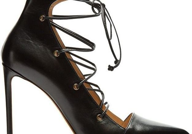 Escarpins noirs en cuir Francesco Russo
