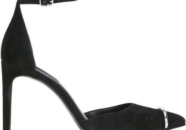 Escarpins noirs et argentés Alexander Wang