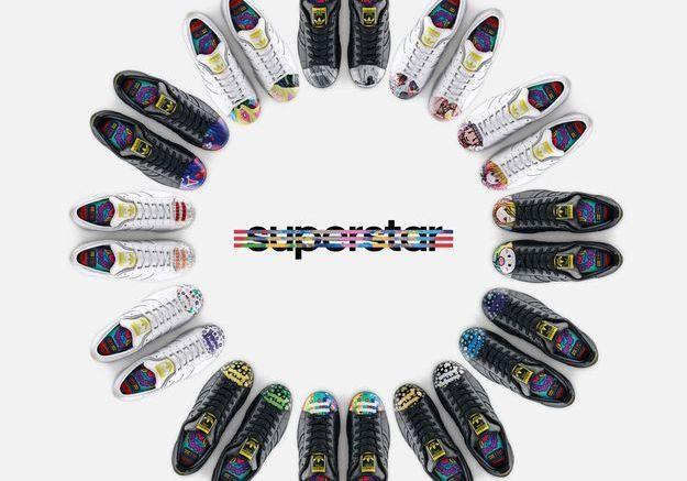 It pièce : la Shelltoe d'Adidas par Pharrell Williams