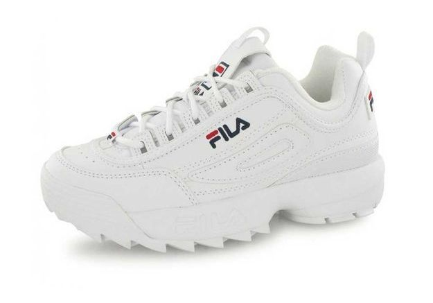 Baskets Disruptor Low Blanches, Fila