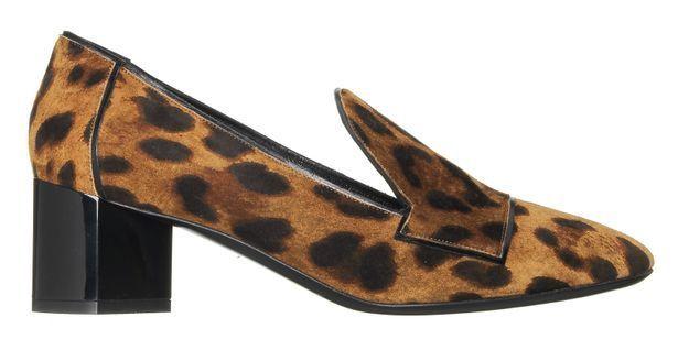 Mocassins à talons léopards Pierre Hardy