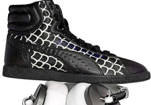 Mode guide shopping diapoarama accessoires chaussures baskets hip hop veja puma