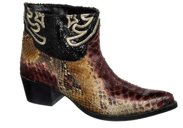 Mode guide shopping tendance look bottes santiags cow boy mexicana