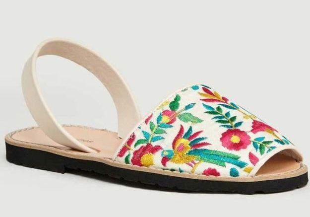 Sandales plates Minorquines