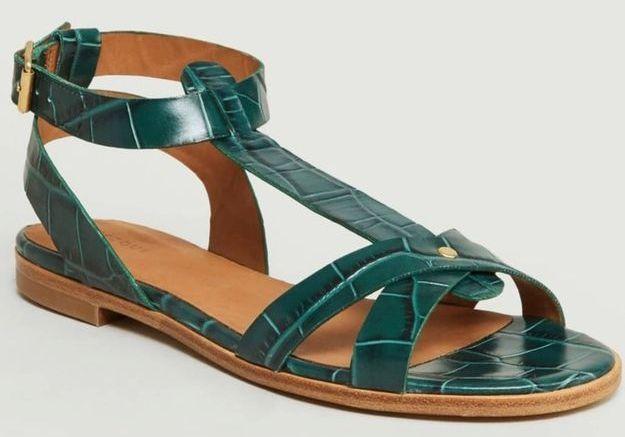 Sandales plates Rivecour