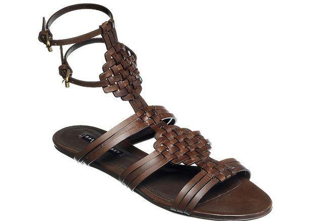 Mode guide shopping tenadance chaussures spartiates ralph lauren