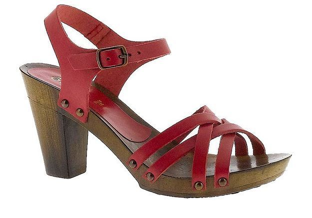 Mode guide shopping tendance chaussures talon bois  eram