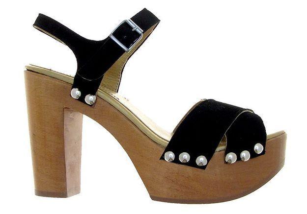 Mode guide shopping tendance chaussures talon bois model madere