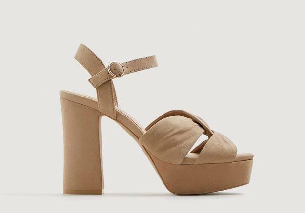 Sandales à talons Mango