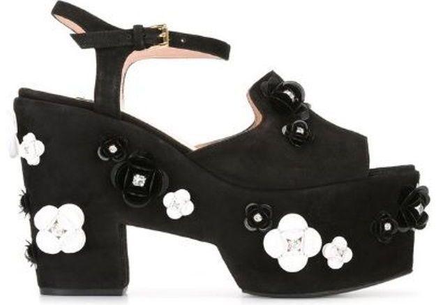 Sandales à plateforme Boutique Moschino