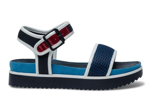 Sandales à plateforme Eram