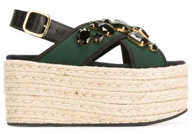 Sandales à plateforme Marni