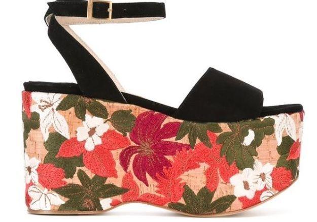 Sandales à plateforme Paloma Barcelo