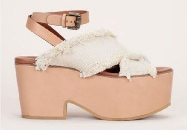 Sandales à plateforme See by Chloé