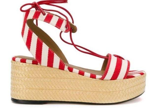 Sandales à plateforme Sonia Rykiel