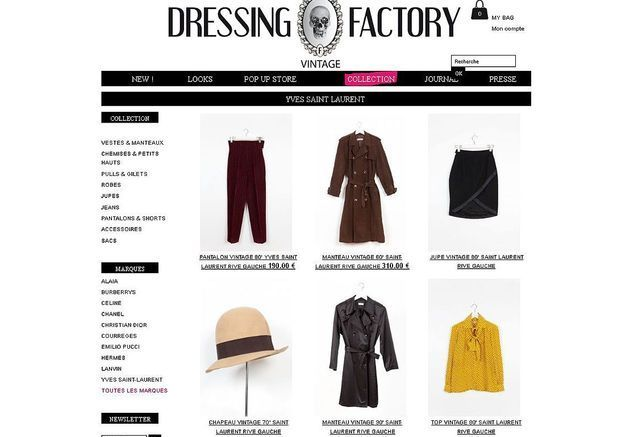 Dressing Factory