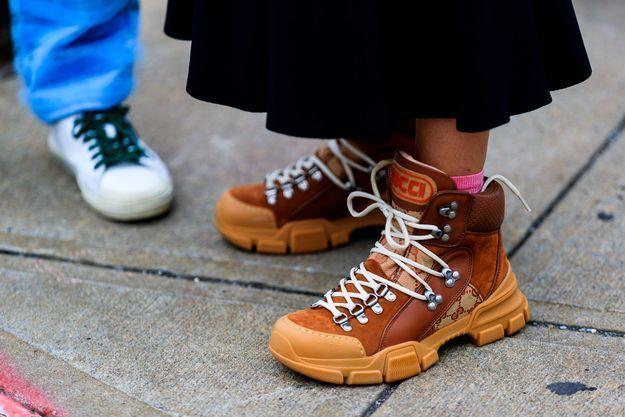Des chaussures de randonnée revisitées